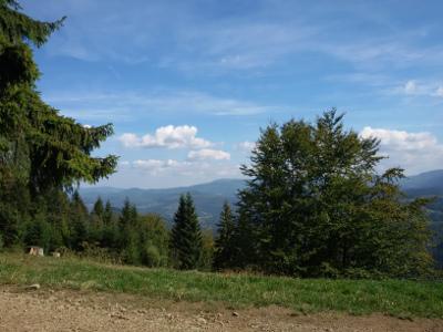 Panorama ze Stożka